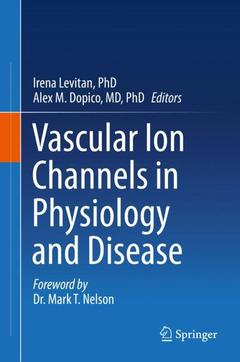 Couverture de l'ouvrage Vascular Ion Channels in Physiology and Disease