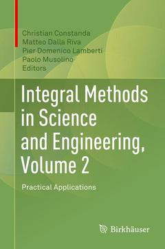 Couverture de l'ouvrage Integral Methods in Science and Engineering, Volume 2