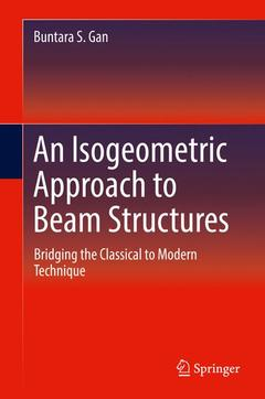 Couverture de l'ouvrage An Isogeometric Approach to Beam Structures