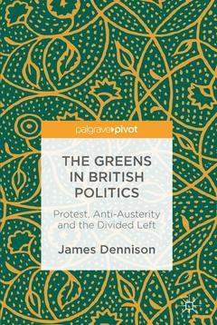 Couverture de l'ouvrage The Greens in British Politics