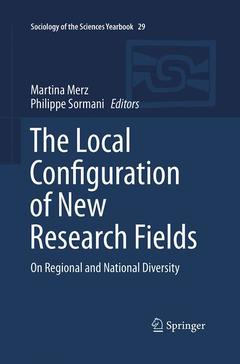 Cover of the book The Local Configuration of New Research Fields