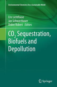 Couverture de l'ouvrage CO2 Sequestration, Biofuels and Depollution