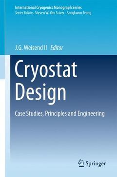 Couverture de l'ouvrage Cryostat Design