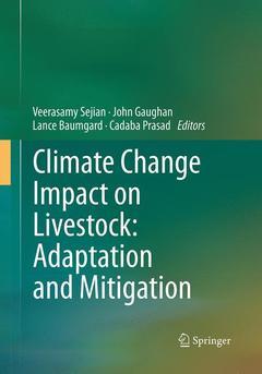 Couverture de l'ouvrage Climate Change Impact on Livestock