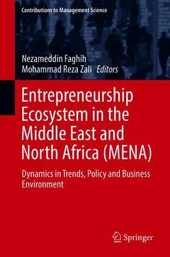 Couverture de l'ouvrage Entrepreneurship Ecosystem in the Middle East and North Africa (MENA)