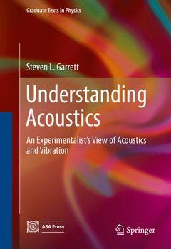 Couverture de l'ouvrage Understanding Acoustics