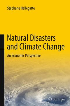 Couverture de l'ouvrage Natural Disasters and Climate Change