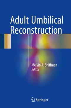 Couverture de l'ouvrage Adult Umbilical Reconstruction
