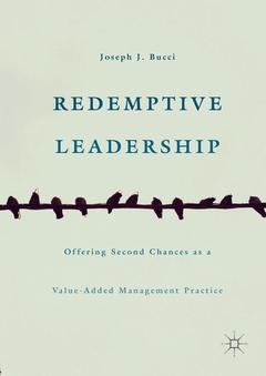 Couverture de l'ouvrage Redemptive Leadership