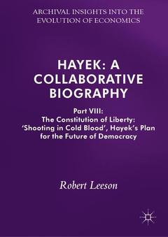 Cover of the book Hayek: A Collaborative Biography