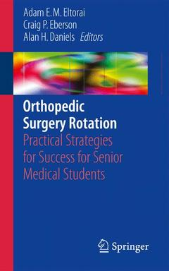 Couverture de l'ouvrage Orthopedic Surgery Rotation