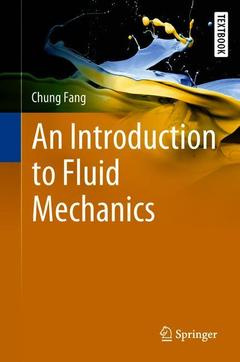 Cover of the book An Introduction to Fluid Mechanics
