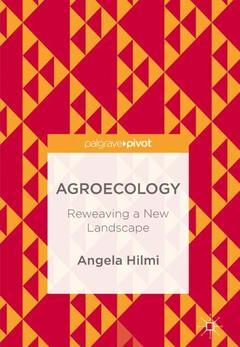 Couverture de l'ouvrage Agroecology