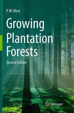 Couverture de l'ouvrage Growing Plantation Forests