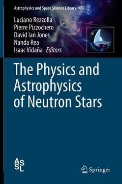 Cover of the book The Physics and Astrophysics of Neutron Stars