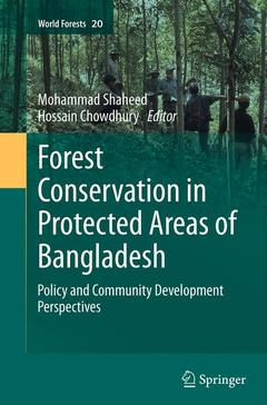 Couverture de l'ouvrage Forest conservation in protected areas of Bangladesh