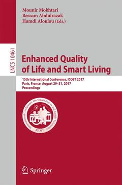 Couverture de l'ouvrage Enhanced Quality of Life and Smart Living