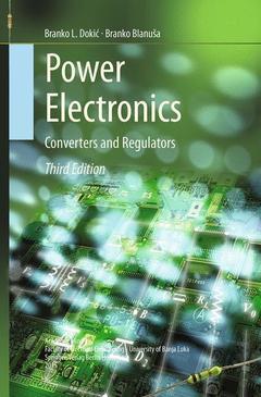 Couverture de l'ouvrage Power Electronics