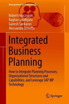 Couverture de l'ouvrage Integrated Business Planning