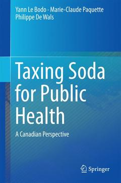 Cover of the book Taxing Soda for Public Health