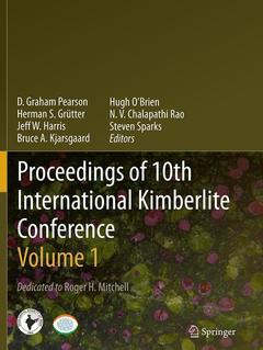 Couverture de l'ouvrage Proceedings of 10th International Kimberlite Conference