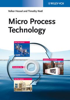 Couverture de l'ouvrage Micro Process Technology