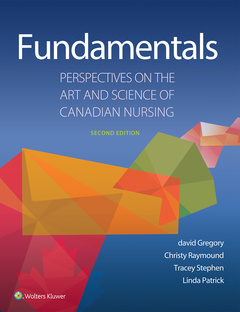 Cover of the book Fundamentals: Perspectives on the Art and Science of Canadian Nursing