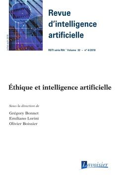 Couverture de l'ouvrage Éthique et intelligence artificielle