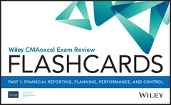 Cover of the book Wiley CMAexcel Exam Review 2019 Flashcards