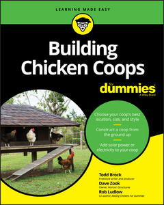Couverture de l'ouvrage Building Chicken Coops