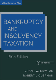 Couverture de l'ouvrage Bankruptcy and Insolvency Taxation
