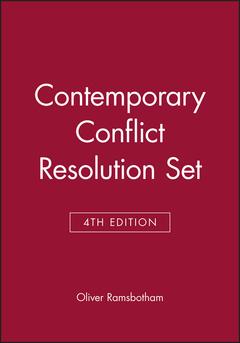 Cover of the book Contemporary Conflict Resolution, 4e Set