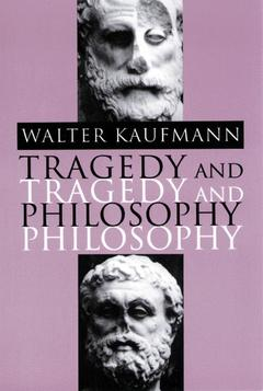 Cover of the book Tragedy and Philosophy