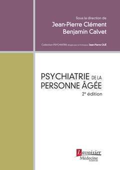 Cover of the book Psychiatrie de la personne âgée