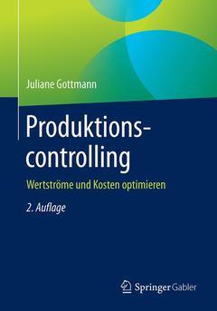 Couverture de l'ouvrage Produktionscontrolling