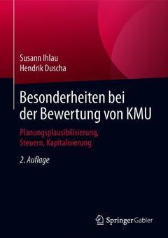 Couverture de l'ouvrage Besonderheiten bei der Bewertung von KMU