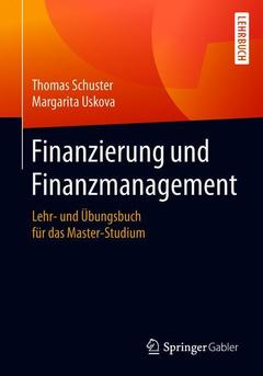 Couverture de l'ouvrage Finanzierung und Finanzmanagement