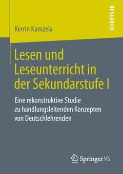 Couverture de l'ouvrage Lesen und Leseunterricht in der Sekundarstufe I