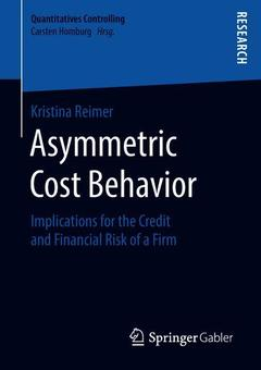 Cover of the book Asymmetric Cost Behavior