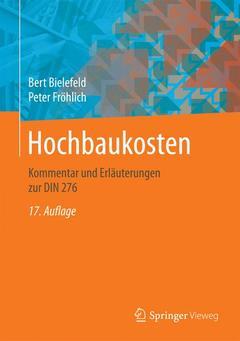 Cover of the book Hochbaukosten