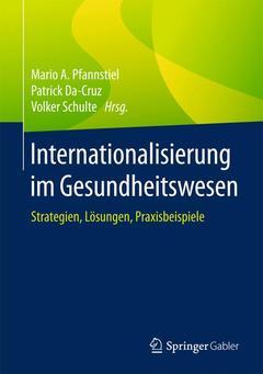 Couverture de l'ouvrage Internationalisierung im Gesundheitswesen
