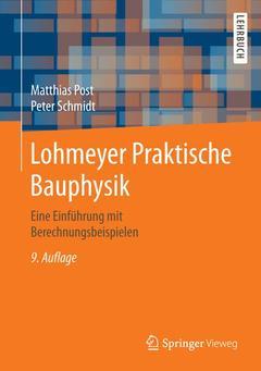 Cover of the book Lohmeyer Praktische Bauphysik