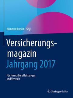 Couverture de l'ouvrage Versicherungsmagazin - Jahrgang 2017