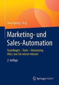 Couverture de l'ouvrage Marketing- und Sales-Automation