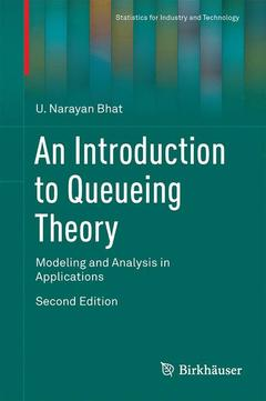 Couverture de l'ouvrage An Introduction to Queueing Theory
