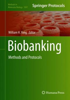 Cover of the book Biobanking