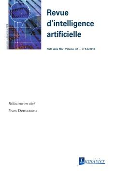 Couverture de l'ouvrage Revue d'intelligence artificielle RSTI série RIA Volume 32 N° 5-6_Septembre-Décembre 2018