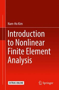 Cover of the book Introduction to nonlinear finite element analysis