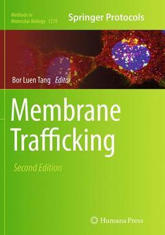 Couverture de l'ouvrage Membrane Trafficking