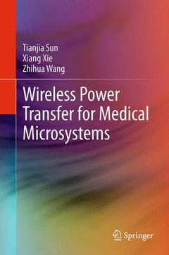 Couverture de l'ouvrage Wireless Power Transfer for Medical Microsystems